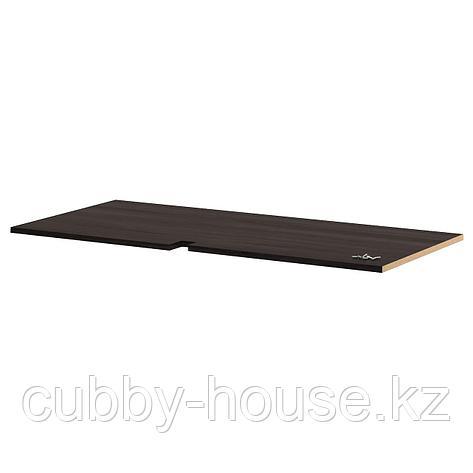 УТРУСТА Полка для угл напольн шкафа, белый, 128 см, фото 2