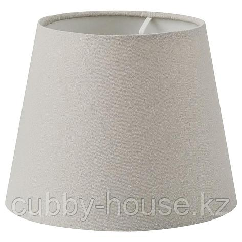 СКОТТОРП Абажур, светло-серый, 42 см, фото 2