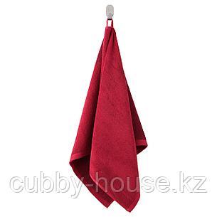 ХИМЛЕОН Простыня банная, темно-красный, меланж, 100x150 см, фото 2