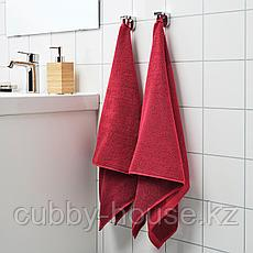 ХИМЛЕОН Простыня банная, темно-красный, меланж, 100x150 см, фото 3