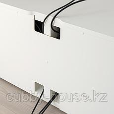 ПЛАТСА Тумба под ТВ, белый, 160x42x42 см, фото 3