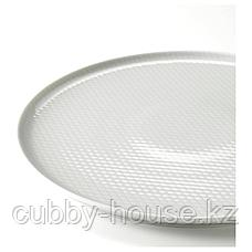 КРУСТАД Тарелка, светло-серый, 25 см, фото 3