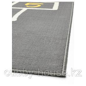 ХЕММАХОС Ковер, серый, 100x160 см, фото 2