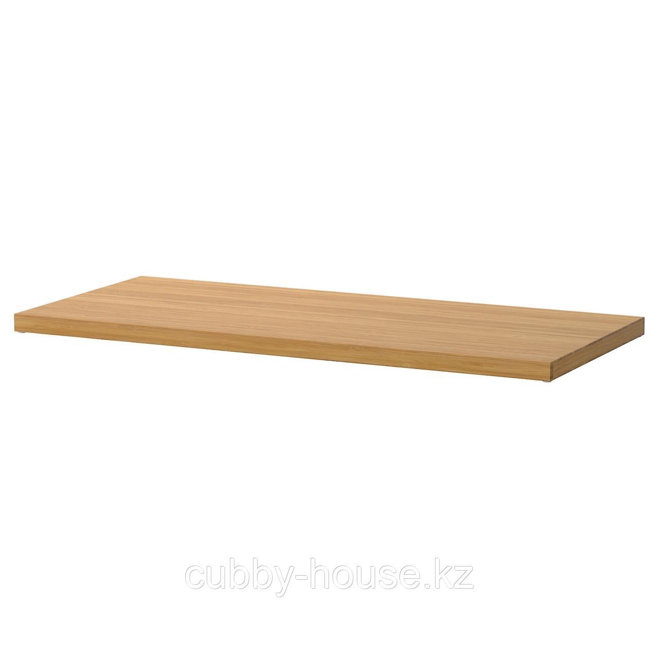 ЭЛВАРЛИ Полка, бамбук, 80x51 см