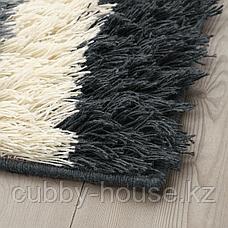 НАУТРУП Ковер, длинный ворс, разноцветный, 133x195 см, фото 3