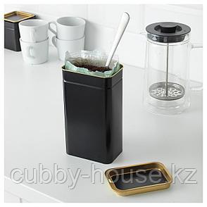 БЛОМНИНГ Банка для кофе/чая, 11x7x20 см, фото 2