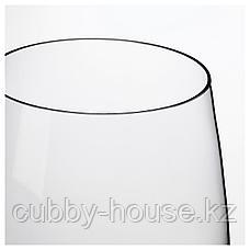 БЕРЭКНА Ваза, прозрачное стекло, 18 см, фото 3