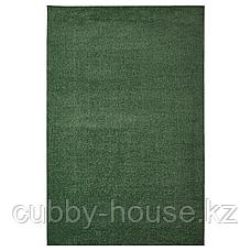 СПОРУП Ковер, короткий ворс, темно-зеленый, 200x300 см, фото 2