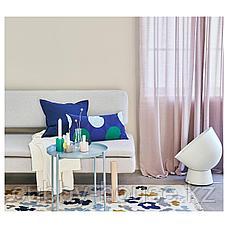 ГУРЛИ Чехол на подушку, темно-синий, 50x50 см, фото 3