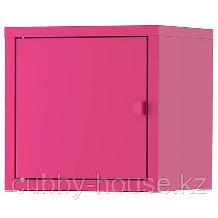 ЛИКСГУЛЬТ Шкаф, металлический, белый, 25x25 см, фото 2