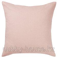 АЙНА Чехол на подушку, светло-розовый, 50x50 см, фото 3