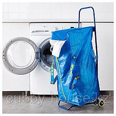 ФРАКТА Тележка с сумкой, синий, фото 2