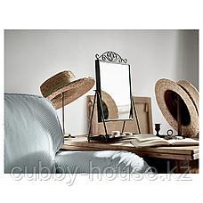 КАРМСУНД Зеркало настольное, черный, 27x43 см, фото 2