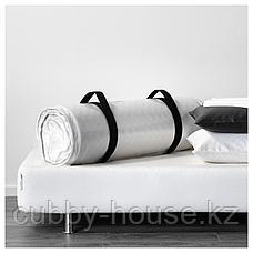 МАЛВИК Пенополиуретановый матрас, жесткий, белый, 90x200 см, фото 2