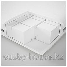 МАЛВИК Пенополиуретановый матрас, жесткий, белый, 90x200 см, фото 3