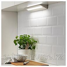 СЛАГСИДА Светодиодная подсветка столешницы, белый, 40 см, фото 2