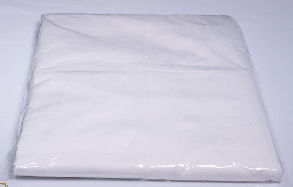 Студийный тканевый белый фон 4 м × 2,3 м