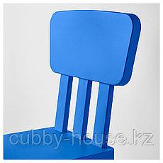 МАММУТ Детский стул, д/дома/улицы, синий, фото 3