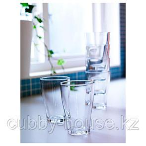 БЕХЭНДИГ Стакан, прозрачное стекло, 30 сл, фото 2