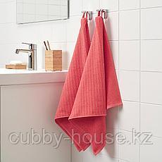 ВОГШЁН Полотенце, светло-красный, 50x100 см, фото 3