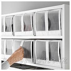 СКУББ Коробка для обуви, белый, 22x34x16 см, фото 3