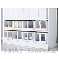 СКУББ Коробка для обуви, белый, 22x34x16 см, фото 2