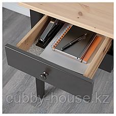 АРКЕЛЬСТОРП Письменный стол, черный, 140x70 см, фото 3