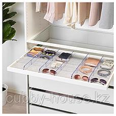 КОМПЛИМЕНТ Коврик в ящик, светло-серый, 90x53 см, фото 3