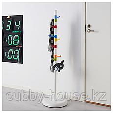 КРОКИГ Вешалка д/одежды, белый, разноцветный, 128 см, фото 2