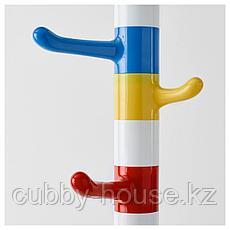 КРОКИГ Вешалка д/одежды, белый, разноцветный, 128 см, фото 3