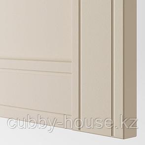 ФЛИСБЕРГЕТ Дверь, светло-бежевый, 50x229 см, фото 2