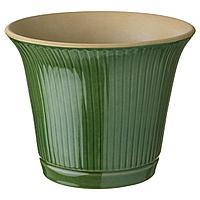 КАМОМИЛ Кашпо, зеленый, 19 см
