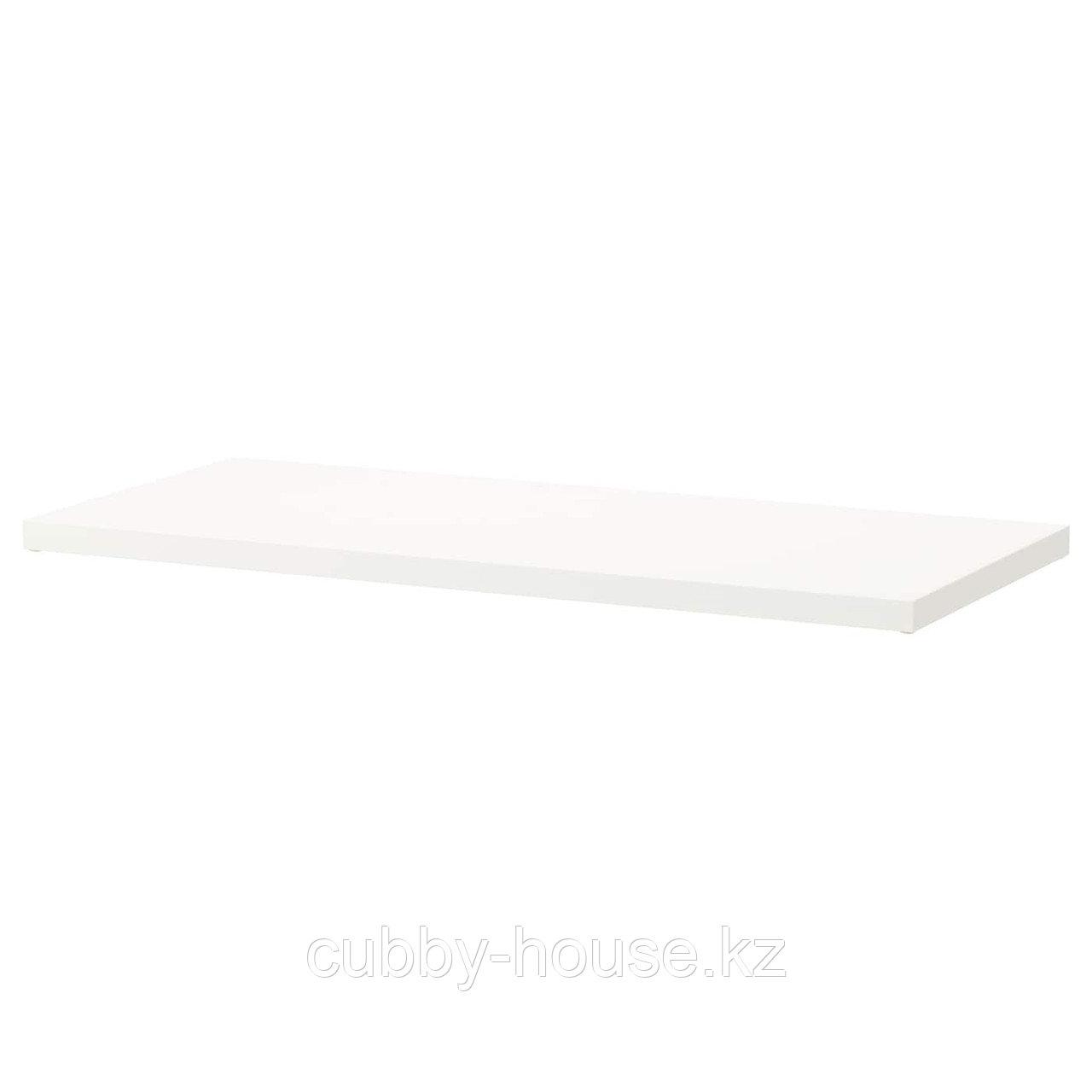 ЭЛВАРЛИ Полка, белый, 80x51 см