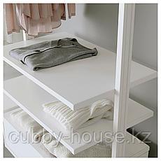 ЭЛВАРЛИ Полка, белый, 80x51 см, фото 3