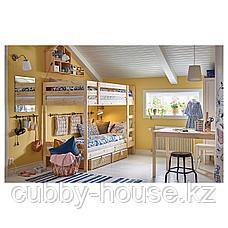 МИДАЛ Каркас 2-ярусной кровати, сосна, 90x200 см, фото 3