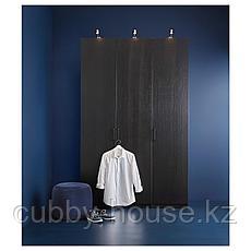 ФОРСАНД Дверь, под мореный ясень, черно-коричневый, 50x229 см, фото 2