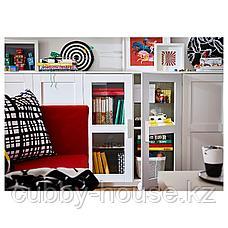 БРИМНЭС Шкаф с дверями, (белый, чёрный) 78x95 см, фото 3