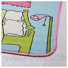 РУММЕТ Ковер, короткий ворс, разноцветный, 100x133 см, фото 2