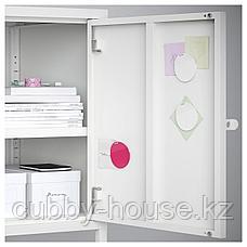ХЭЛЛАН Комбинация для хранения с дверцами, белый, 90x47x167 см, фото 3