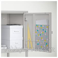 ЛИКСГУЛЬТ Шкаф, металлический, серый, 60x35 см, фото 2