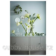 ЛИКСГУЛЬТ Шкаф, металлический, серый, 60x35 см, фото 3