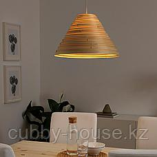 ИЛСБУ Абажур для подвесн светильника, бамбук, 45 см, фото 2