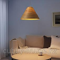 ИЛСБУ Абажур для подвесн светильника, бамбук, 45 см, фото 3