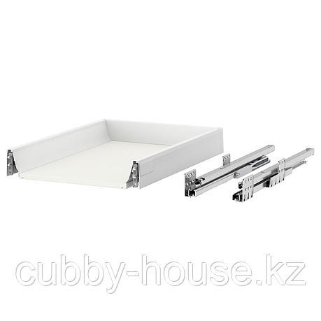 МАКСИМЕРА Ящик, низкий, белый, 40x37 см, фото 2