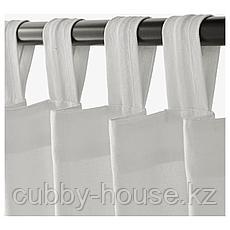 ЛЕНДА Гардины с прихватом, 1 пара, белый, 140x300 см, фото 3