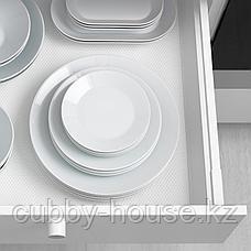 ИКЕА/365+ Тарелка, белый, 20 см, фото 3