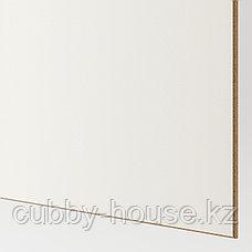 МЕХАМН Пара раздвижных дверей, под беленый дуб, белый, 150x236 см, фото 2