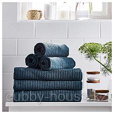 ВОГШЁН Полотенце, темно-синий, 50x100 см, фото 2