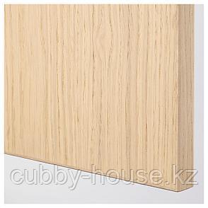 ФОРСАНД Дверь, под беленый дуб, 50x229 см, фото 2