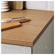 КНОКСХУЛЬТ Напольный шкаф с ящиками, серый, 40 см, фото 3